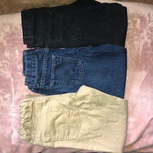 LEVIS Boys size 7 Jeans/Bottoms